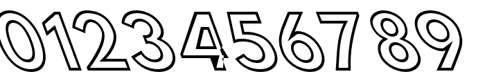 Hussar Simple Condensed Ghost OppositeOblique 3 Font OTHER CHARS