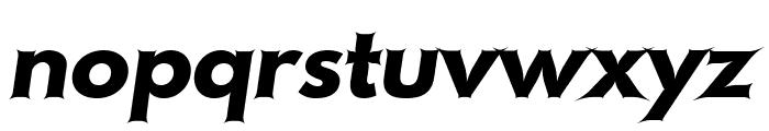Hussar Szturm Oblique Font LOWERCASE