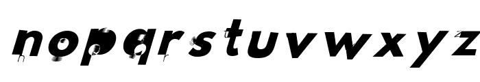 Hussar Wojna3 Oblique Font LOWERCASE