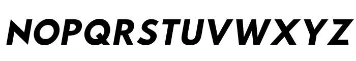 Hussar Wysoki Oblique Font UPPERCASE
