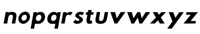 Hussar Wysoki Oblique Font LOWERCASE