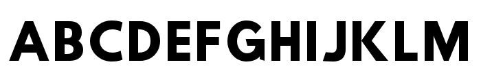 Hussar Wysoki Font UPPERCASE