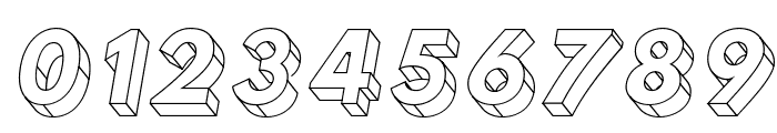 Hussar3D Four Italic Font OTHER CHARS