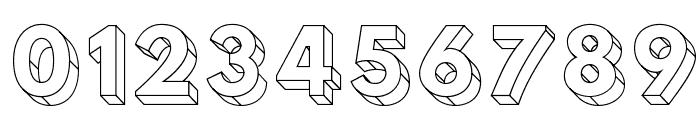 Hussar3D Three Font OTHER CHARS