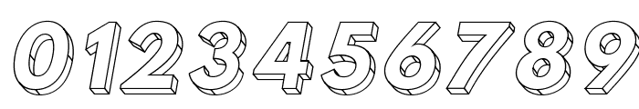 Hussar3D Two Italic Font OTHER CHARS
