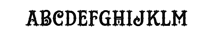HustlersRoughDemo Font UPPERCASE