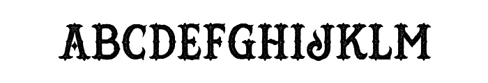 HustlersRoughDemo Font LOWERCASE