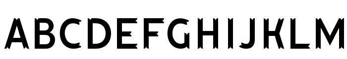 HutanLestari Font LOWERCASE