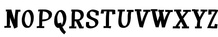 Huxtable Font UPPERCASE