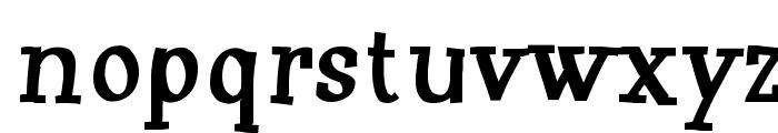 Huxtable Font LOWERCASE