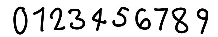 hundrighting Font OTHER CHARS