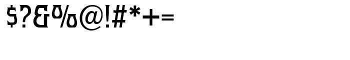 Hullabaloo Regular Font OTHER CHARS