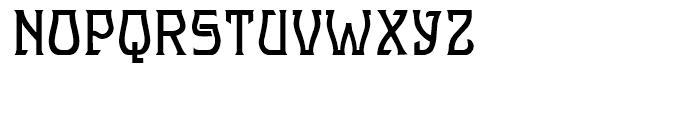 Hullabaloo Regular Font UPPERCASE