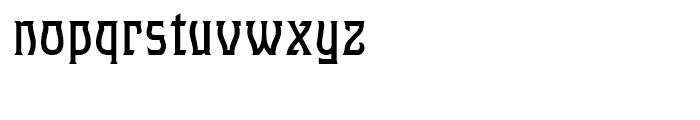 Hullabaloo Regular Font LOWERCASE