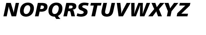 Humanist 777 Black Italic Font UPPERCASE