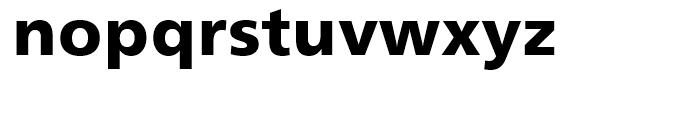 Humanist 777 Black Font LOWERCASE