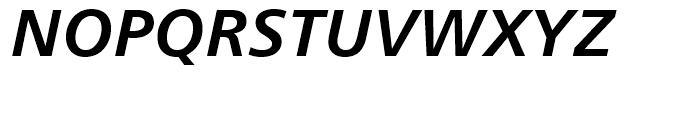 Humanist 777 Bold Italic Font UPPERCASE