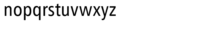 Humanist 777 Condensed Font LOWERCASE