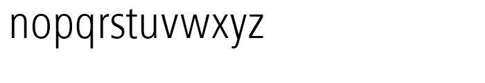Humanist 777 Light Condensed Font LOWERCASE