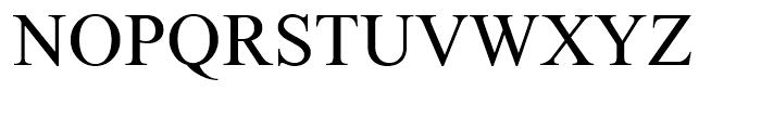 Humanist Medium Font UPPERCASE