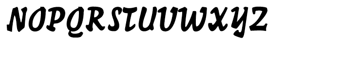Hunter Regular Font UPPERCASE