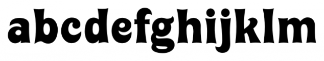 Huckleberry Regular Font LOWERCASE