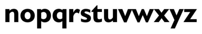 Humanist 521 Bold Font LOWERCASE