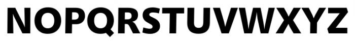 Humanist 531 Black Font UPPERCASE