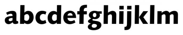 Humanist 531 Black Font LOWERCASE