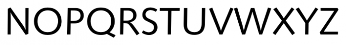 Humanist 531 Book Font UPPERCASE