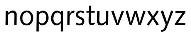 Humanist 531 Book Font LOWERCASE