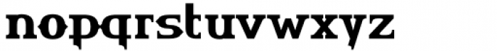 HU The Game Cyrillic Semi Bold Font LOWERCASE