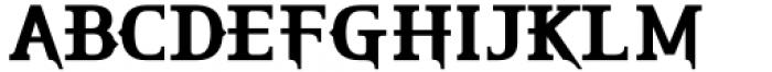 HU The Game Latin Semi Bold Font UPPERCASE