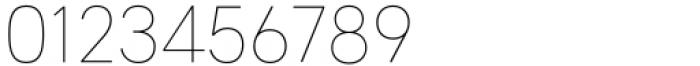 HU Wind Sans Cyrillic Extra Light Font OTHER CHARS