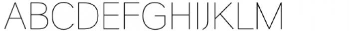 HU Wind Sans Cyrillic Extra Light Font UPPERCASE
