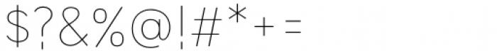 HU Wind Sans Greek Extra Light Font OTHER CHARS