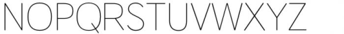 HU Wind Sans Latin Extra Light Font UPPERCASE