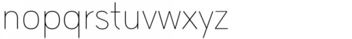 HU Wind Sans Latin Extra Light Font LOWERCASE