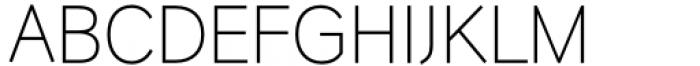HU Wind Sans Latin Light Font UPPERCASE