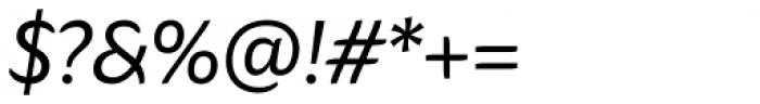 Hua Italic Font OTHER CHARS