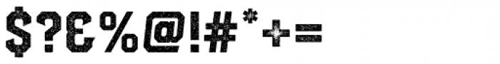 Hudson NY Serif Press Font OTHER CHARS