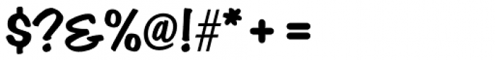 Hudson Font OTHER CHARS