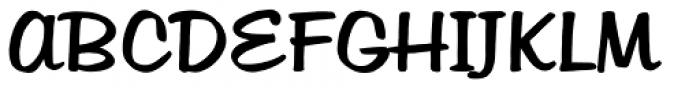 Hudson Font UPPERCASE