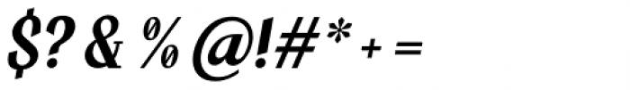Hujan Italic Font OTHER CHARS