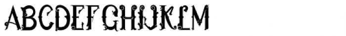 Hukiran Regular Font LOWERCASE