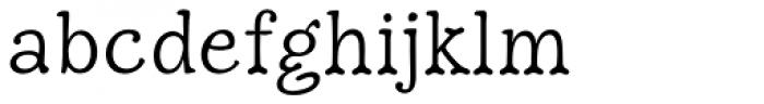 Hulbert Font LOWERCASE