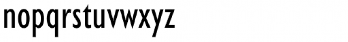Humanist 521 Condensed Font LOWERCASE