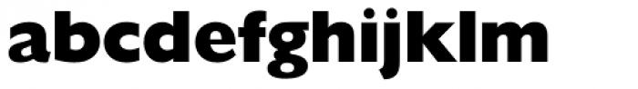 Humanist 521 ExtraBold Font LOWERCASE