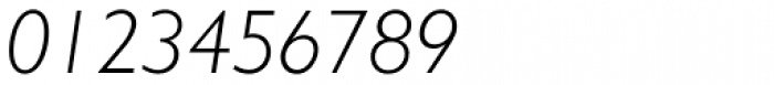 Humanist 521 Light Italic Font OTHER CHARS