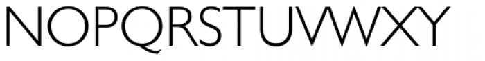 Humanist 521 Light Font UPPERCASE